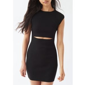 NWOT Wilfred Free Cut-Out Knit Dress
